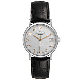 IWC Portofino Silver Dial Automatic Steel Mens Watch