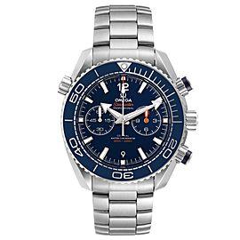 Omega Planet Ocean Blue Dial Mens Watch
