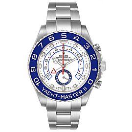 Rolex Yachtmaster II 44 Blue Cerachrom Bezel Mens Watch