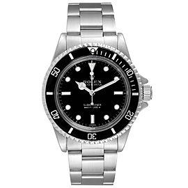 Rolex Submariner Vintage Stainless Steel Mens Watch 5513 Box Service Card