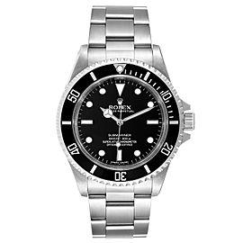 Rolex Submariner 40mm Non-Date 4 Liner Steel Steel Watch