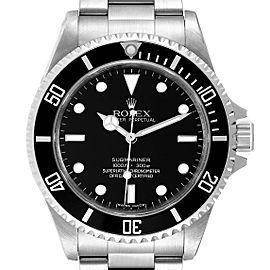 Rolex Submariner 40mm Non-Date 4 Liner Steel Mens Watch 14060