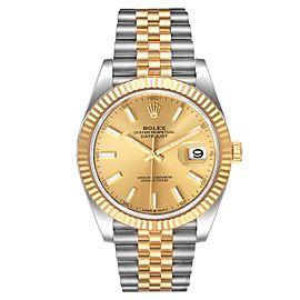 Rolex Datejust 41 Steel Yellow Gold Jubilee Bracelet Watch