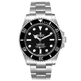 Rolex Submariner Non-Date Ceramic Bezel Steel Watch