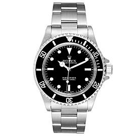 Rolex Submariner 40mm Non-Date 2 Liner Steel Steel Watch 14060 Box Papers