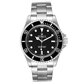 Rolex Submariner 40mm Non-Date 2 Liner Steel Steel Watch