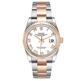 Rolex Datejust 36 Steel EveRose Gold Watch