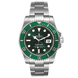 Rolex Submariner Hulk Green Dial Bezel Steel Mens Watch