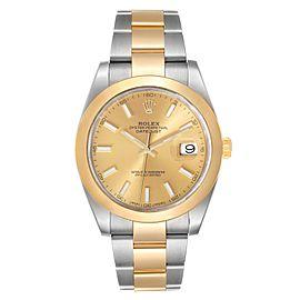 Rolex Datejust 41 Steel Yellow Gold Mens Watch