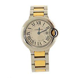 Cartier Ballon Bleu de Cartier Quartz Watch Stainless Steel and Yellow Gold 28