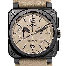 Bell & Ross Aviation Desert Type Chronograph Ceramic Watch