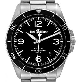 Bell & Ross Heritage Aeronavale Black Dial Steel Watch BRV292 Unworn