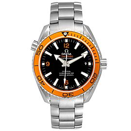 Omega Seamaster Planet Ocean Orange Bezel Watch 232.30.42.21.01.002 Box Card