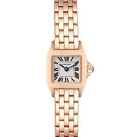 Cartier Santos Demoiselle 17mm Rose Gold Ladies Watch W25077X9