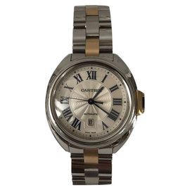 Cartier Cle de WSCL0004 Rose Gold and Stainless Steel 31mm Automatic Unisex Watch