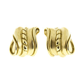Kieselstein Cord Vintage 18K Yellow Gold Earrings