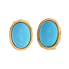 Eustrician Byzantine Natural Turquoise Earrings