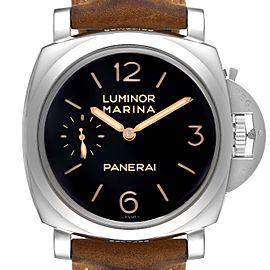 Panerai Luminor 1950 Acciaio 47mm 3 Days Power Reserve Watch PAM00422