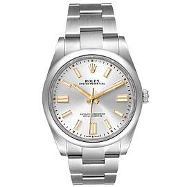 Rolex Oyster Perpetual 41mm Automatic Steel Mens Watch 124300 Unworn