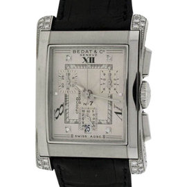 Bedat & Co. No.7 Stainless Steel & Leather Mens Watch