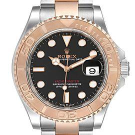 Rolex Yachtmaster Everose Gold Steel Rolesor Mens Watch 126621 Unworn