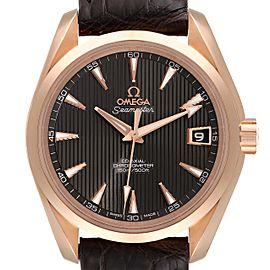 Omega Seamaster Aqua Terra Rose Gold Watch 231.53.39.21.06.001