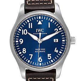 IWC Pilot Mark XVIII Petit Prince Blue Dial Mens Watch IW327010