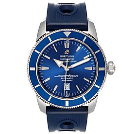 Breitling Superocean Heritage 46 Blue Dial Steel Mens Watch A17320