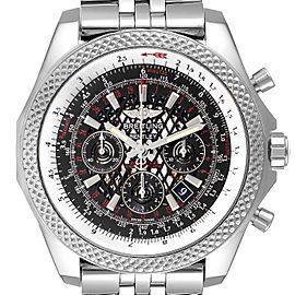 Breitling Bentley B06 Black Dial Chronograph Steel Mens Watch AB0611
