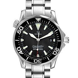 Omega Seamaster James Bond 36 Midsize Black Dial Watch 2262.50.00 Box Papers