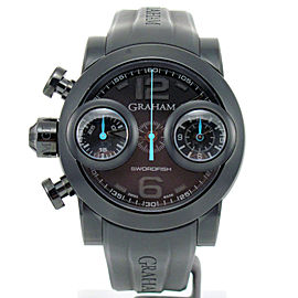 Graham Swordfish Booster 2SWBB.U36L.K58N Black PVD Stainless Steel 48mm Mens Watch