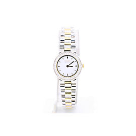 Citizen Two Tone Stainless Steel White Dial 23mm Womens Watch