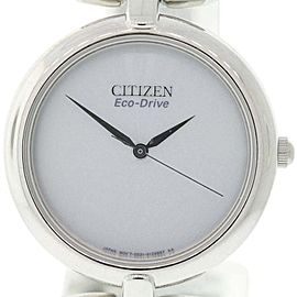 Citizen EM0220-53A Stainless Steel & Silver Dial 34mm Womens Watch