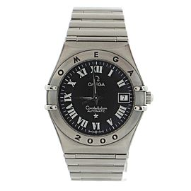 Omega Constellation Automatic Watch Stainless Steel 27