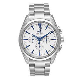 Omega Seamaster Aqua Terra XL Chronograph Watch 2512.30.00 Box Card