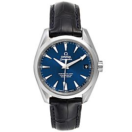 Omega Seamaster Aqua Terra Blue Dial Watch 231.13.39.21.03.001 Box Card