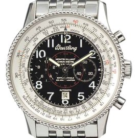 Breitling Navitimer Montbrillant A35330 Stainless Steel 42.1mm Watch