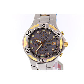 Citizen Promaster AN0694-51P Stainless Steel with Gold Accents 40mm Mens Watch