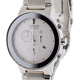 Citizen AT2240-51A Stainless Steel & Silver Dial 43mm Mens Watch
