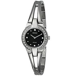 Seiko SUP205 Stainless Steel with Crystal Quartz 22mm Womens Watch