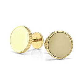 Tiffany & Co. 18K Yellow Gold Round Cufflinks