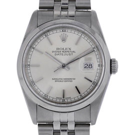 Rolex Datejust 16200 Stainless Steel Automatic 36mm Unisex Watch