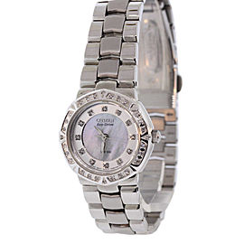 Citizen EP5830-56D Stainless Steel & Mother of Pearl Dial 26mm Womens Watch