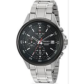 Seiko Chronograph SKS491 Stainless Steel Quartz 43mm Mens Watch