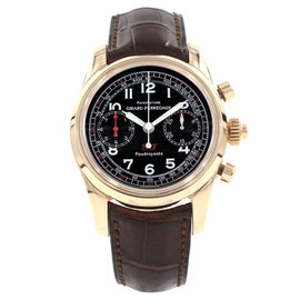 Girard Perregaux 9020 18K Rose Gold & Leather Automatic 40mm Mens Watch