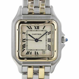 Cartier Panthere W1588MEE Stainless Steel & 18K Yellow Gold Quartz 26.5mm Womens Watch