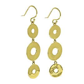 Ippolita 18K Yellow Gold Senso Linear Disc Earrings