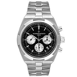 Vacheron Constantin Overseas Black Dial Chronograph Watch 5500V Unworn