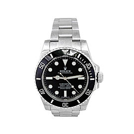 Rolex Submariner 114060 Stainless Steel Automatic 40mm Mens Watch