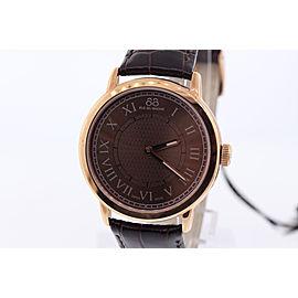 Unisex 88 Rue du Rhone 87WA120016 Analog Display Swiss Brown and Rose Gold Watch